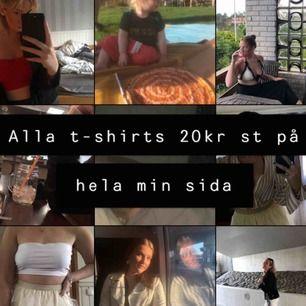 20 kr på alla t-shirts
