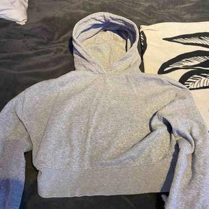 Croppad hoodie ifrån zara, nypris 300kr, knappt använd och är i bra skick