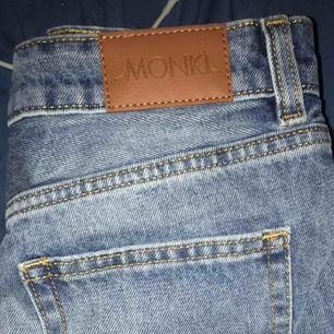 Super fina shorts från monki köpta på secondhand men fint skick! Tyvärr var dom för stora för mig😌
