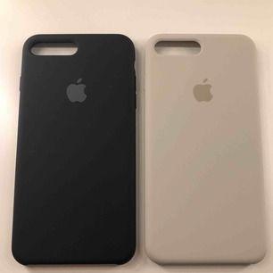 Oanvända Apple skal för iPhone 6/7/8+  (silikon skal) 360kr/st  Nypris: 500kr, frakt: 11kr BEIGEA SÅLT!!