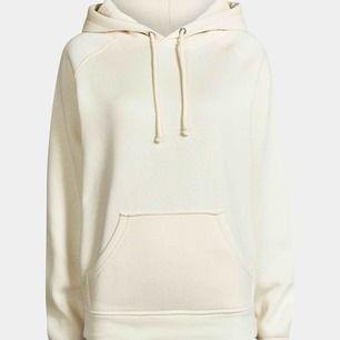 Jättemysig hoodie från BikBok i en krämvit färg🤍
