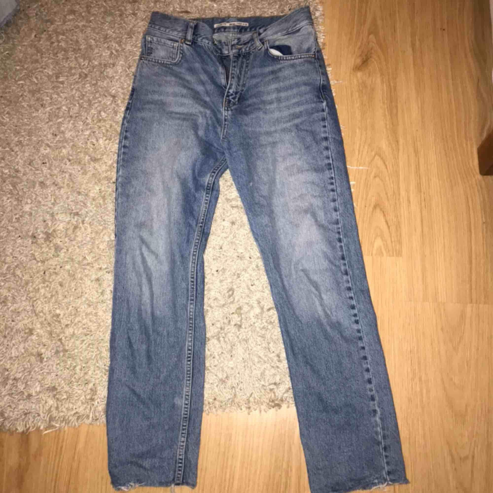 Jättefina Jeans från junkyard storlek 36/S använda ett fåtal gånger . Jeans & Byxor.