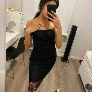 Snygg svart klänning Aldrig använd  Köparen står för frakt