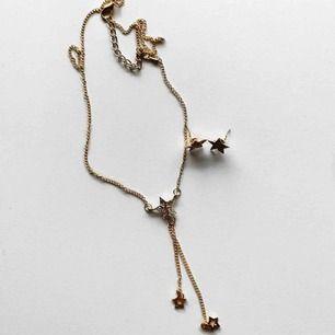 Guldfärgat set med halsband & örhängen! ⭐️