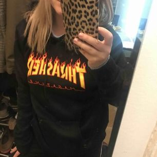 Ej äkta Thrasher hoodie❤️lite nopprig
