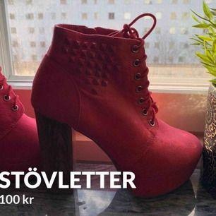 Säljer rosa stövletter från vox shoes