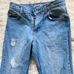 Helt nya jeans från junkyard. Säljer pga fel storlek. Aldrig använda 💙