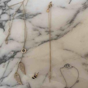 Smycken från olika märken, ej använda  30 kr sty