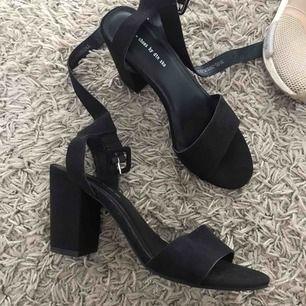 Oanvända klackar från din sko, perfekt till bal eller liknande, klacken är 8cm