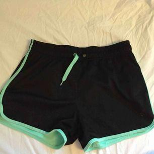 Supersköna och snygga träningsshorts. Kan använda som vanliga shorts också. Från hm i storlek XS-S. 50kr