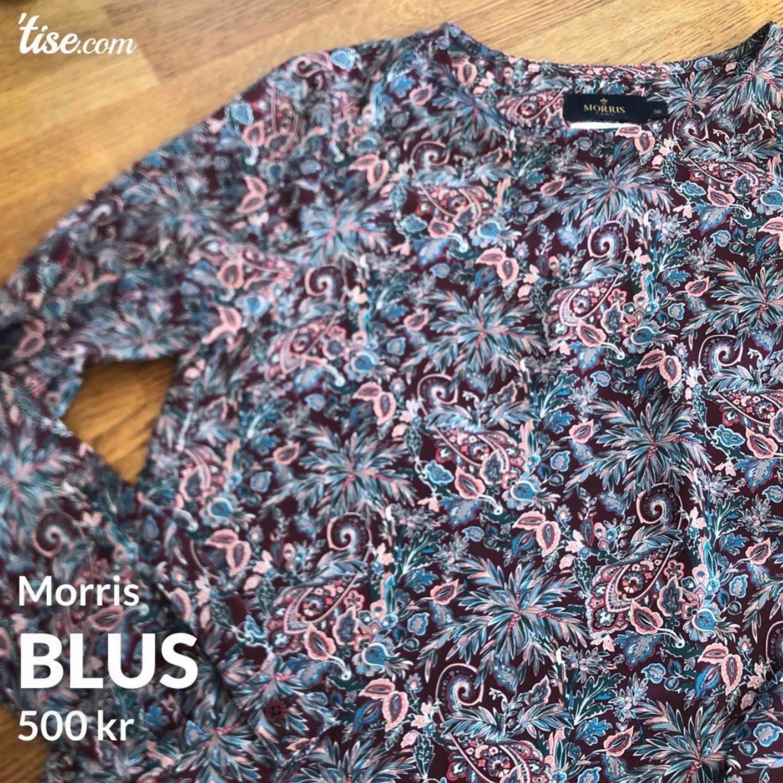 Blommig och vårig blus från Morris. Inköp förra våren för 1500kr och är aldrig använd. . Blusar.