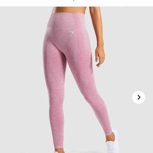 Nya gymshark vital seamless leggings i färgen dusty pink  Säljs pga att de aldrig kommer till användning