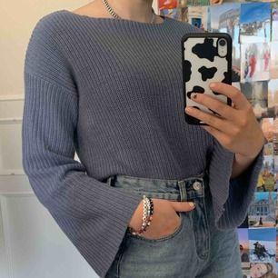 Fin blå/grå tröja från NA-KD!  Köpare står för frakten🥰