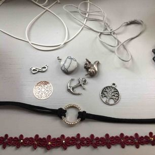 Diverse material till att göra smycken. Säljs för 10 styck:) Kolla gärna mina andra annonser <3