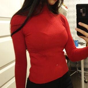 Röd polo från Zara!