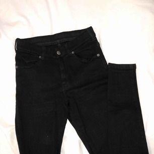 Oanvända svarta Dr Denim jeans i modellen lexy