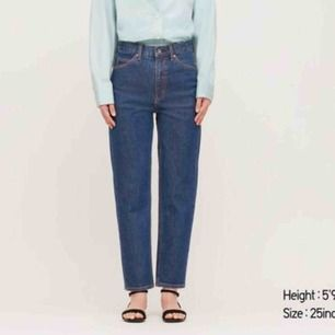 Jeans från uniqlo, oversized så de passade mig när jag var ca storlek 28/29 också!