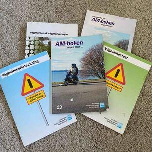 Moped böcker för er som ska gå moped kursen i år! Alla böcker är inkluderade!❤️
