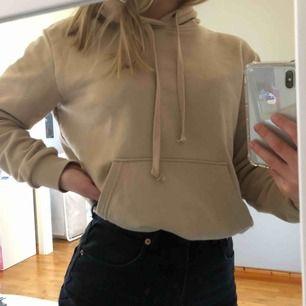 Jättefin beige hoodie från H&M. Fint skick, perfekt nu till våren. Priset kan diskuteras, skriv för fler bilder 🥰