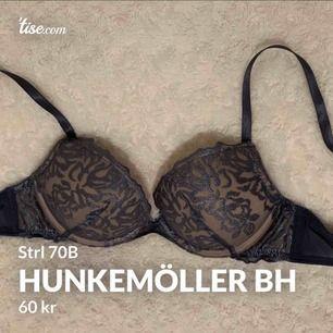 Vacker bh från Hunkemöller, storlek 70B. Push up. Endast provad, jättebra skick! Köparen står för frakten!