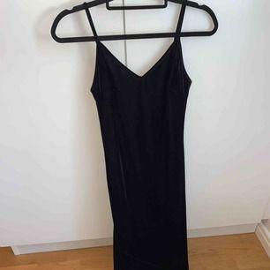 Velvet långklänning  Storlek S Från forever 21 Bra skick - endast använd en gång (bal)