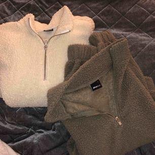 Dessa två tröjor ifrån ginatricot för 100kr eller en för 70kr + frakten 63kr . Ska egentligen vara korta tröjor så köpte större storlek då jag inte vill ha croptops. Sitter som vanliga tröjor har vanligts S/M