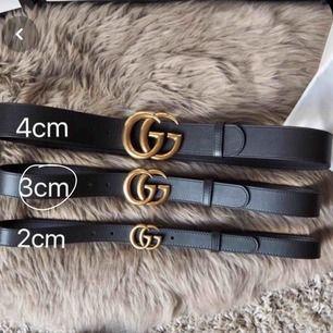 Aaa-kopia GUCCI belt, köpt från Dubai i somras och är som ny. DM för bilder och info. Frakt ingår i priset!