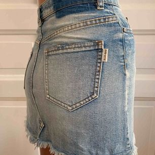Denim skirt, from Peek&Cloppenburg Size XS, but fits as an S.  Perfect for summer!