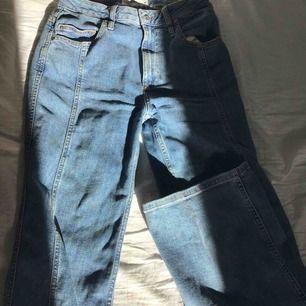 Utsvängda jeans från Cubus köpta i somras . Använda bara 1 gång . 🪐⚡️