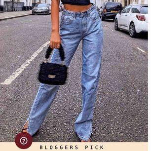 Skit snygga jeans med slits från rebellious! Kommer inte till användning. Budgivning.🦋🌺
