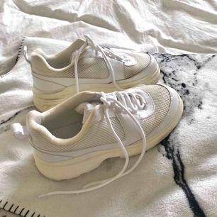 Chunky sneakers, använda fåtal gånger