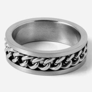 Oanvänd silver-ring!