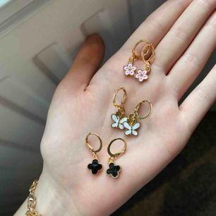3 par supergulliga örhängen! Priset gäller styckvis! 💓