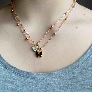 2 separata supersöta guldiga halsband! Priset gäller styckvis 🦋