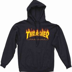 Trasher hoodie, använd högst 2 gånger därav priset! Storlek: unisex 36/S