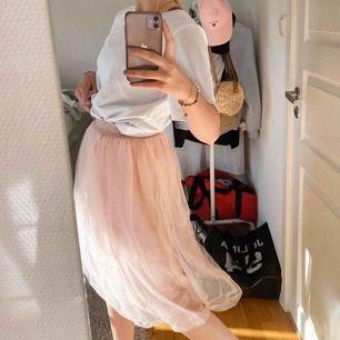 Köparen står för frakten, kan mötas upp i Borås💕 Såå fin kjol perfekt till vår och sommar!! Rosa med stretchiga band längs upp, kjolen är ifrån NEO NOIR ursprung pris ca 500kr!!💕