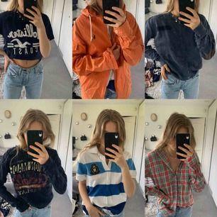 Herrkläder som är minst lika coola på tjejer. Från Ralph lauren, Riley, Morris och replay, DM VID INTRESSE