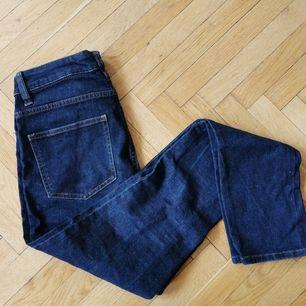 Tights jeans från Monki, hög midja. Modell
