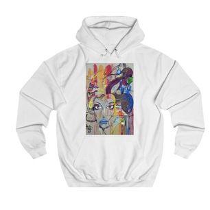 Painted Women hoodie från The Cool Elefant. Använd ett fåtal gånger så skicket är superbra! Säljer den då den inte passar mig längre. Nypris ca 625 kr. Bjuda från 350kr!