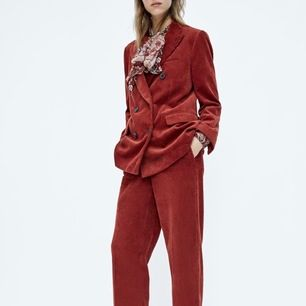 New Zara Woman suits, size S, brick color, vintage style. Shipping included
