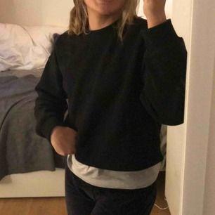 Svart sweatshirt från zara