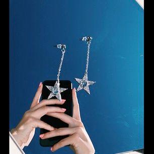 Oanvända supercoola stjärnörhängen!💫✨