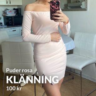 klänning med drag kedja på sidan