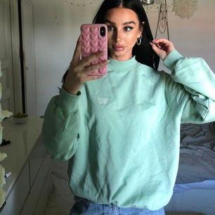 Grön Sweatshirt från Junkyard, storlek S. Prislapp kvar💕🌸 #sweatshirt