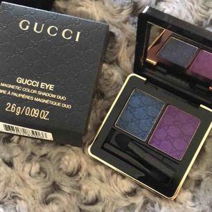 Gucci ögonskugga, By Terry puder, Dior läppstift/glans
