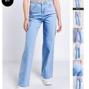 INTRESSEKOLL!! har dessa endast provade jeans från madlady, tyvärr inga lappar kvar. Säljer för rätt pris, buda🤗 storlek 36, säljer då de är för stora i midjan för mig. Nypris 549