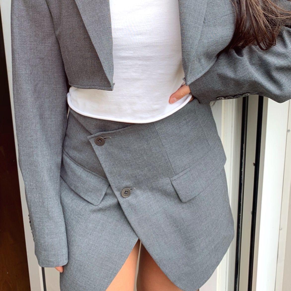 INTRESSEKOLL!! Har sytt om en kavaj till ett set. Passar strl. XS-S jag är 160cm. Kostymer.