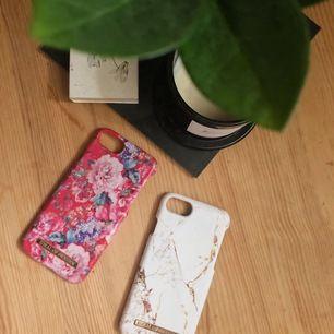Mobilskal från Ideal of Sweden, knappt använda (det vita är i princip aldrig använt)! Passar iPhone 8/7/6. Köp båda för 150kr!! Ett skal för 90kr. Frakt tillkommer 🌸