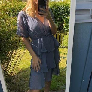 Inköpt för 299kr, aldrig använd. Jättesöt klänning som förtjänar att bli använd mer! Prislapp finns kvar och köpare står för frakten 🥰
