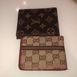 2 Fake plånbok med bra kvalite och pris (Per st). Pris kan diskuteras